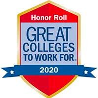 Honor Roll - Great Colleges to Work For 2020